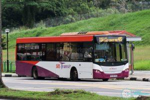 Bus 45: SBS Transit Scania K230UB (SBS8578Z)