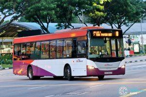 Bus 8: SBS Transit Scania K230UB (SBS8662M)