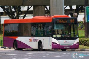 Bus 105: SBS Transit Scania K230UB (SBS8939R)