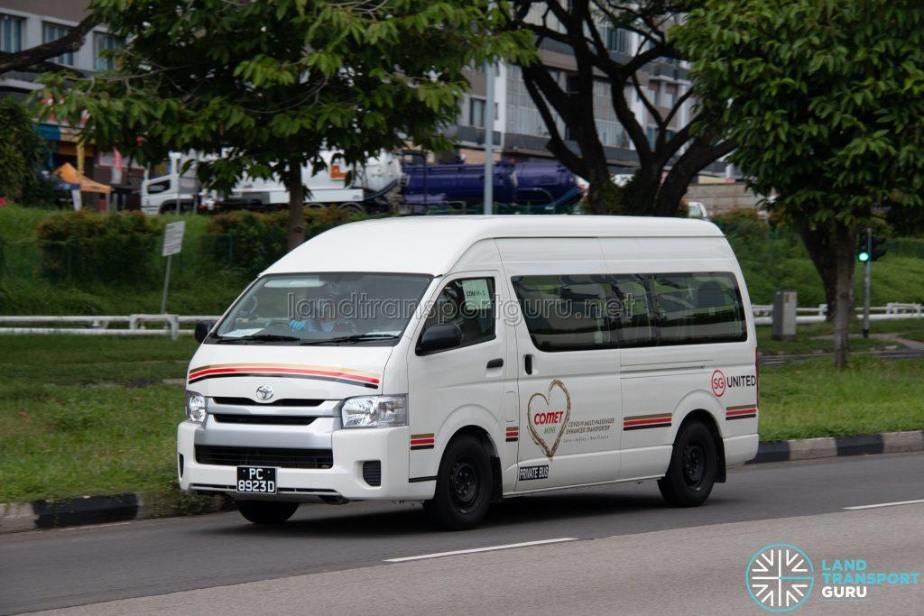 COMET MINI: Toyota Hiace (PC8923D)