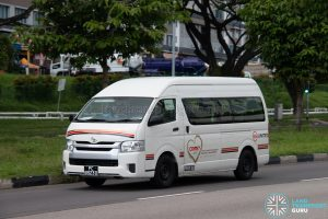COMET MINI: Toyota Hiace (PC8923D)