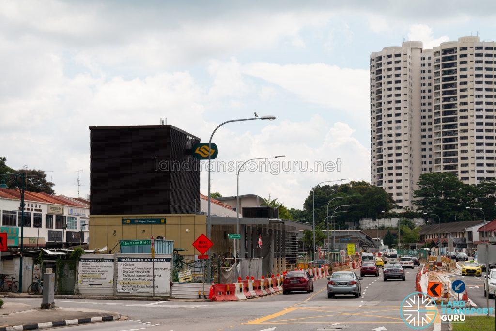 Upper Thomson MRT Station - Exit 4