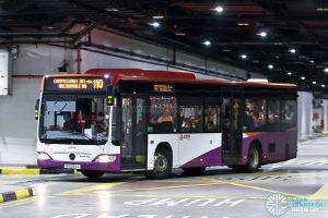 Bus 110: SMRT Mercedes-Benz Citaro (SG1034J)