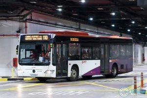 Bus 110: SMRT Mercedes-Benz Citaro (SG1043H)