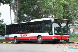 Bus 853#: SMRT Mercedes-Benz Citaro (SMB144D)