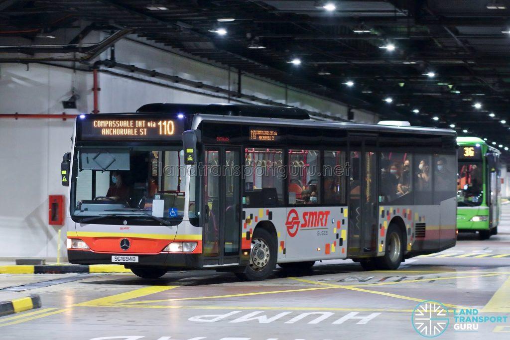Bus 110: SMRT Mercedes-Benz Citaro (SG1694D)