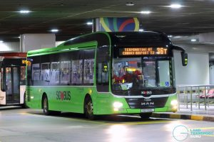 Bus 36T - Go-Ahead Singapore MAN A22 (SG1720L)