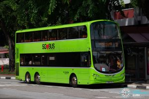Bus 2: Go-Ahead Volvo B9TL Wright (SBS17D)