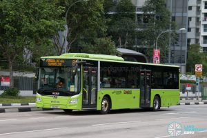 Bus 84: Go-Ahead MAN Lion's City A22 (SG1818P)