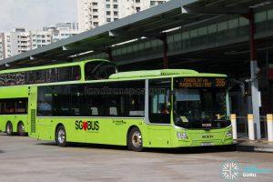 Bus 386: Go-Ahead MAN Lion's City A22 (SG1819L)