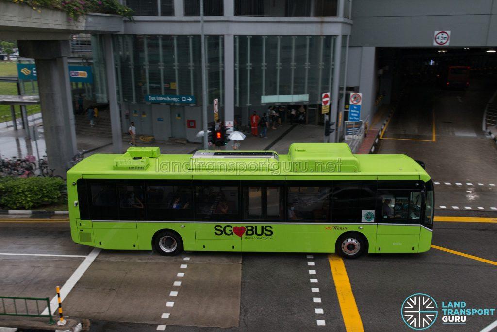 SBS Transit BYD K9 Offside