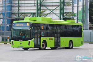 Bus 162: SBS Transit BYD K9 (SG3061S)