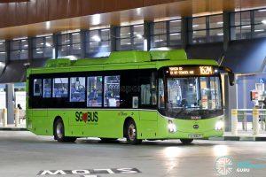 Bus 162M: SBS Transit BYD K9 (SG3062P)