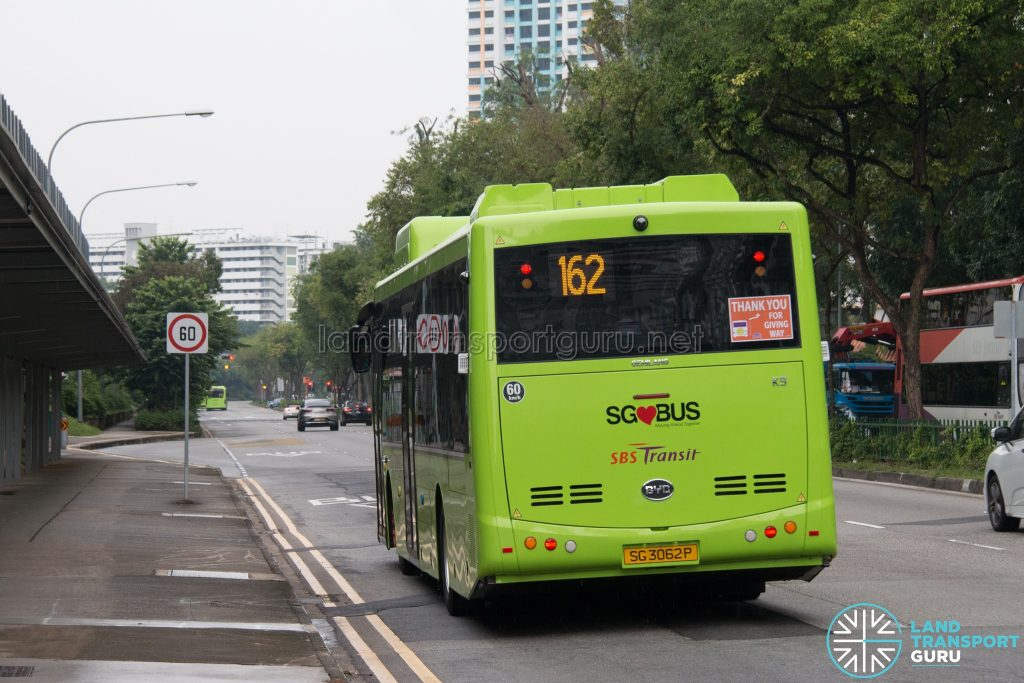 SBS Transit BYD K9 Rear (SG3062P)