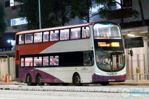 Bus 410W: SBS Transit Volvo B9TL Wright (SBS3656P)