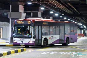 Bus 53: SBS Transit Mercedes-Benz Citaro (SBS6095M)