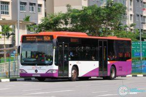 Bus 160M: SBS Transit Mercedes-Benz Citaro (SBS6187G)
