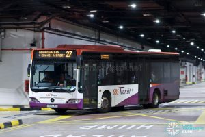 Bus 27: SBS Transit Mercedes-Benz Citaro (SBS6237X)