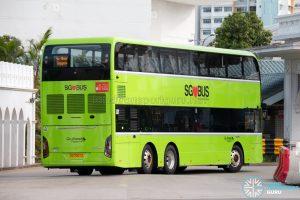 Go-Ahead Yutong E12DD - Rear (SG7007Z)