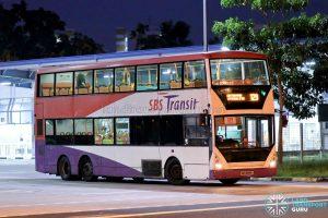 Bus 129 - SBS Transit Volvo B10TL CDGE (SBS9889U)