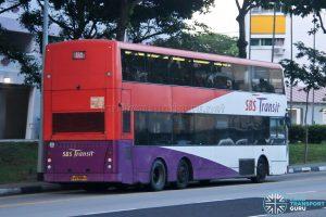 Bus 28 - SBS Transit Volvo B10TL CDGE (SBS9889U) - Rear