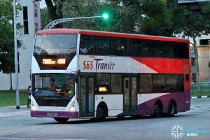 Bus 410W - SBS Transit Volvo B10TL CDGE (SBS9889U)