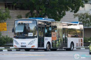 NUS Bus AA2: ComfortDelgro Volvo B9L (PC3769R)