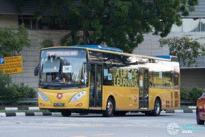 NUS Bus BB: ComfortDelgro Volvo B9L (PC3785T)