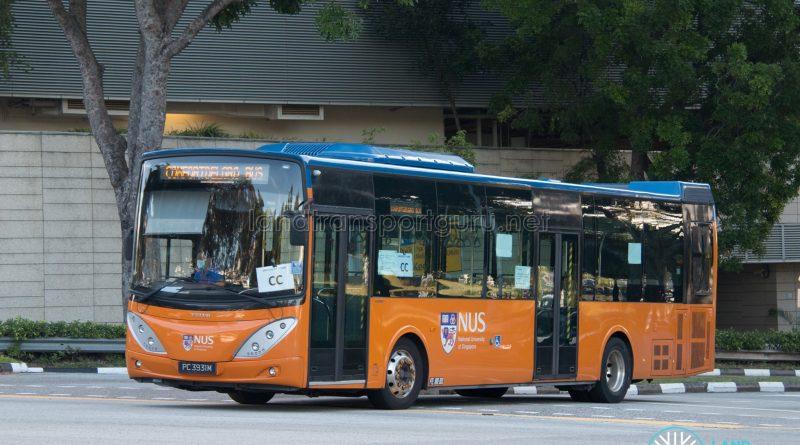 NUS Bus CC: ComfortDelgro Volvo B9L (PC3931M)