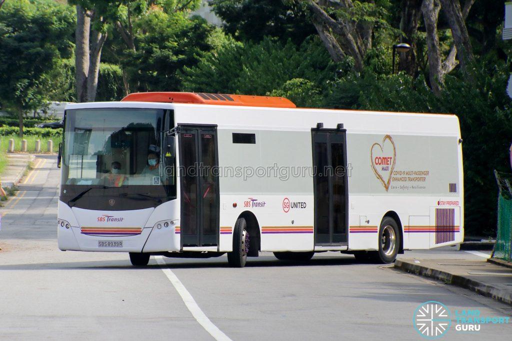 SBS8939R - COVID-19 Patient Transporter (COMET)