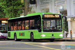 Bus 162M: SBS Transit Mercedes-Benz Citaro (SG1240E)