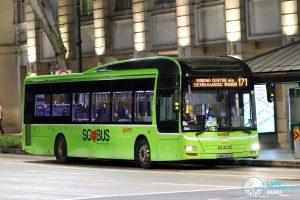 Bus 171: SMRT MAN A22 (SMB1561B)