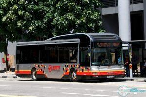Bus 700A: SMRT MAN A22 (SMB1566M)