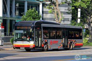 Bus 190: SMRT MAN Lion's City A22 (SG1705G)