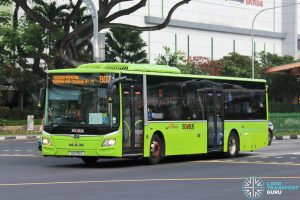 Bus 807: SBS Transit MAN Lion's City A22 (SG1751Y)