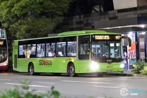 Bus 147 - SBS Transit MAN A22 Euro 6 (SG1775D)