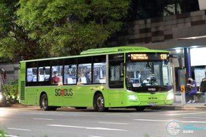 Bus 139 - SBS Transit MAN A22 Euro 6 (SG1793B)