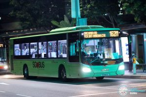 Bus 162M: SBS Transit MAN Lion's City A22 (SG1812E)