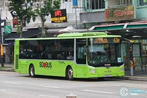 Bus 43e: Go-Ahead MAN Lion's City A22 (SG1842T)