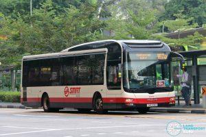 Bus 167e: SMRT Buses MAN A22 (SMB308Z)