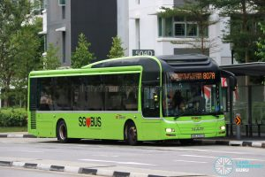 Bus 807A: SBS Transit MAN Lion's City A22 (SMB3082D)