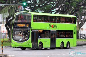 Bus 12: Go-Ahead Volvo B9TL Wright (SBS3512X)