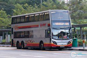 Bus 670: SMRT Alexander Dennis Enviro500 (SMB5071Y)