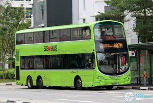 Bus 807A: SBS Transit Volvo B9TL Wright (SG5136Y)