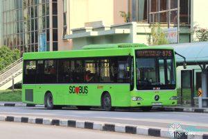 Bus 975: SMRT Mercedes-Benz OC500LE (SMB54E)