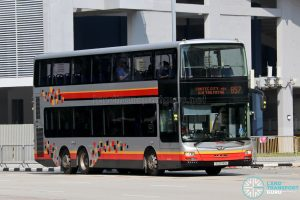 Bus 857: SMRT MAN Lion's City DD A95 (SG5741A)