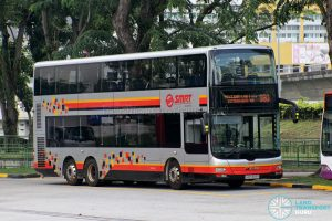 Bus 980: SMRT MAN Lion's City DD A95 (SMB5888H)