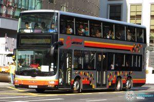 Bus 700A: SMRT MAN A95 Demostrator (SMB5888H)