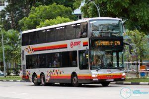 Bus 979: SMRT MAN Lion's City DD A95 (SMB5889E)