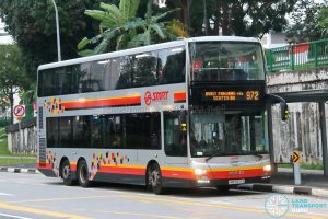 Bus 972: SMRT MAN Lion's City DD A95 (SMB5890A)